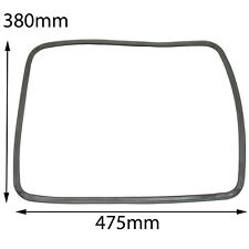 Rubber Door Seal with corner Clips for NEFF Oven Cooker 475mm X 380mm