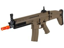 FN Herstal Licensed SCAR-L Airsoft AEG Rifle by Cybergun (Color: Desert Tan)