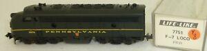 Life Like 7751 Pennsylvania 9874 F-7 Diesel Locomotive N 1:160 Boxed Y8 Å