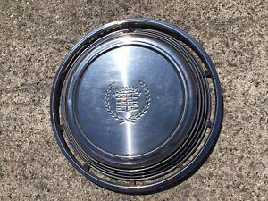 1972 1973 Cadillac Eldorado Radkappe Hub Cap 15 Zoll mit Emblem paßt 1971 - 1978