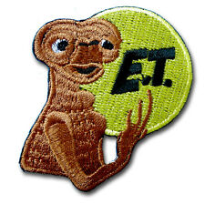 ET Alien Peace Patch UFO Flying Saucer Roswell Area 51 Retro Applique Iron on MC
