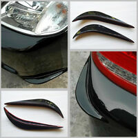 Car Black Bumper Anti-rub Strips Exterior Scratches Protector Decoration Cover