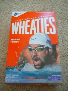 Wheaties Michael Phelps Empty Box