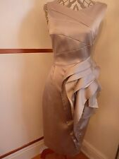 STUNNING AUTHENTIC KAREN MILLEN WIGGLE DRESS SIZE 10