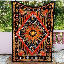 Boho Tagesdecke Wandbehang Indien Shade Mandala Tepisery Picknick Yoga Matte
