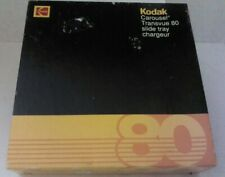 KODAK Carousel Transvue 80 Slide Tray in Box- Eastman Kodak