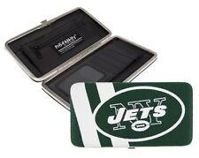 New York NY Jets NFL Team Logo Hard Shell Mesh Wallet