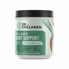 Dr Axe Dr Collagen Joint Support Powder Types I, II, III, V X Collagen [16oz]