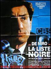 LA LISTE NOIRE Guilty by Suspicion Affiche Cinéma / Movie Poster ROBERT DE NIRO
