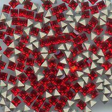 4401 3 LS *** 25 strass Swarovski carrés 3mm LIGHT SIAM F