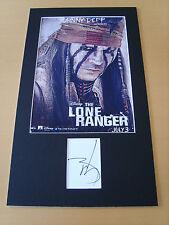 Johnny Depp Genuine Autograph - UACC / AFTAL.