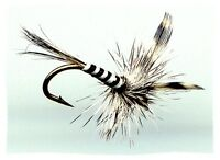 Adult Mosquito - Twelve Flies - Your Choice of Hook Size & Quantity