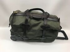 FILSON Small  Wheeled Duffel Bag    RETAIL $495