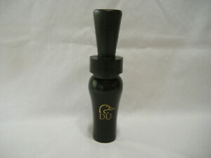 Ducks Unlimited Rich-N-Tone Black and Gold Duck Call Game Call