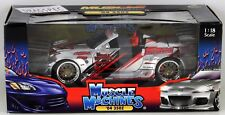Muscle Machines 2004 Nissan 350Z Muscle Tuners Drifting Street Racer Import 1:18