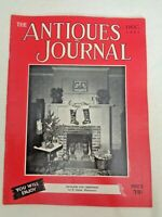 Antiques Journal 1951 Haviland for Christmas Paisley Shawls Wedgwood Cameos Toys
