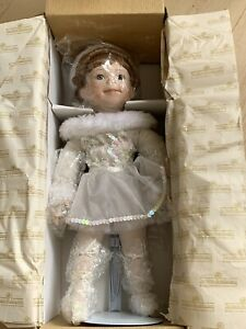 "Ashton-Drake Galleries ""My Little Ballerina"" Handcrafted Porcelain Doll with box"