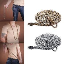Titanium Steel Outdoor Arts Self Defence Bracelet Neck Waist Belt Chain Welcome