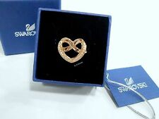 Swarovski Cupidon Ring Heart Size: S/6/52,  Rose Gold-Plated Crystal 5139687