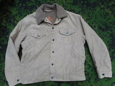 Original Levi's Levis Strauss & Co Sherpa Cachi Corda Camionista Giacca Cappotto L