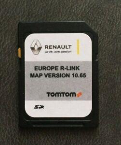 Renault Tom Tom R-Link Navigation SD Karte Europa Karte V 10.65 2021 NEUSTE