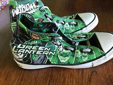 Converse All Stars Green Lantern High Tops Mens 7  DC Comics Unisex