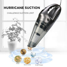 120W 12V Wired Handheld Auto Car Vacuum Cleaner Home Wet/Dry Dirt Clean