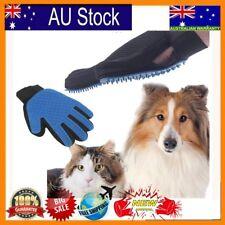 1pc Pet deShedding Cleaning Brush Glove Dog Cat Hair Massage Grooming Groomer U