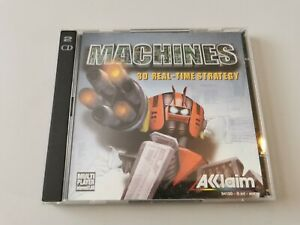 Machines - 3D RTS PC Game - Windows - 2 Disc
