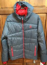 Spyder Men M Polar Jacket ThermaWeb XT Gray Puffer Insulated $199 NWT New