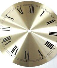Hermle-Westminster  clock dial center 220mm  Roman satin silver