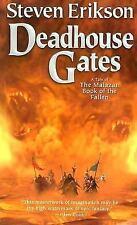 Malazan Book of the Fallen #2: Deadhouse Gates by Steven Erikson (2006, MM PB)