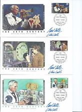 1920'S CELEBRATE THE 20TH CENTURY FDC'S, JAZZ, KING TUT, WALL STREET CRASH