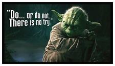 Fridge Magnet: MASTER YODA - Do or Do Not... There Is No Try. (STAR WARS)