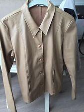 veste beige imitation cuir Pour Femme t 40 Etam Degriffée