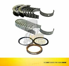Bearing & Piston Rings Set Fits Chrysler Grand Voyager 3.3 L VIN R/3 - SIZE STD