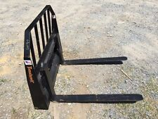 New Pallet Forks Attachment For Skid Steer Fits Bobcat Amp More 42 Adjustable
