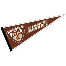 "St. Bonaventure Bonnies Full Size 12"" X 30"" College NCAA Pennant"