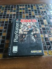 Resident Evil (Sony PlayStation 1, 1996) Long Box Complete PS1 Rare