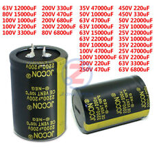 25-450V 220-47000uF Radial Aluminium High Frequency Electrolytic Capacitor 105°C