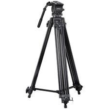 walimex pro Videostativ Director I 192cm, inkl. Neiger mit Libelle und Tasche