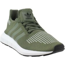 708666a1306 Adidas Swift Run Athletic Running Green Shoes CQ2108 Size 12 Us 100%  Authentic