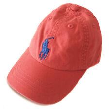 New RALPH LAUREN Red Baseball Cap Hat Boys Age 2-4 Years