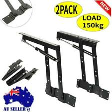2x Lift up Coffee Table Mechanism Hardware Lifting Frame Furniture 50kg Load AU