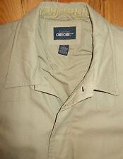 Barn Coat Field Jacket Insulated Mens XL Cherokee Tan Work Riding Chore 4B26