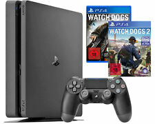 Playstation 4 Slim Konsole 1Tb Inkl. Watch Dogs1&2, the Crew und Uncharted 4