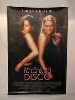 """Whit Stillman signed """"The Last Days of Disco"""" Poster Kate Beckinsale on front"""