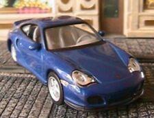 PORSCHE 911 TURBO 2000 HIGHSPEED 1/43 BLAU GERMANY BLEU BLISTER PLASTIQUE