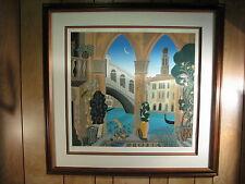 Thomas McKnight Rialto Framed Print 28/175