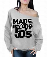 MADE in the 50's Off the shoulder oversized slouchy sweater sweatshirt